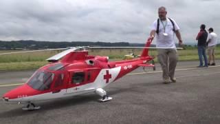 getlinkyoutube.com-Biggest R/C Agusta-109K2 turbine Model Helicopter REGA Swiss Heli Challenge 2016