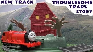 getlinkyoutube.com-Thomas The Tank Tale Of The Brave Trackmaster James Troublesome Traps New Thomas The Tank Engine