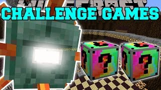 getlinkyoutube.com-Minecraft: TITANIC GUARDIAN CHALLENGE GAMES - Lucky Block Mod - Modded Mini-Game