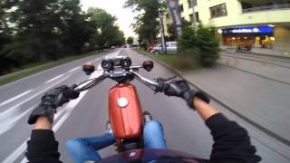 getlinkyoutube.com-Zator s51   simson S51 wheelie/stunt 2 !