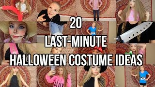 getlinkyoutube.com-20 Last Minute DIY HALLOWEEN COSTUMES