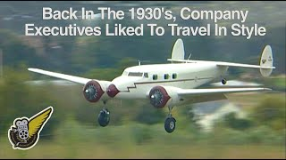 getlinkyoutube.com-1930's: Lockheed Electra and Beech Staggerwing