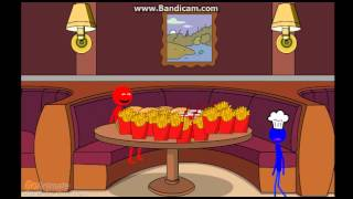 Elmo Gets Fat At McDonalds And Gets Grounded AngryBirdman03