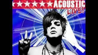 getlinkyoutube.com-Adam Lambert - Whataya Want From Me (Acoustic)