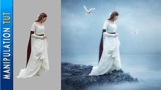 getlinkyoutube.com-Photoshop CC - Photo Manipulation Tutorial - Waiting For You