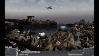 getlinkyoutube.com-MEN OF WAR (PC): The Battle of Montauk Point - December 16th 1944 - (Alternate History)