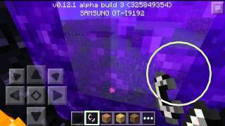 getlinkyoutube.com-Minecraft pe como encontra o castelo do nether