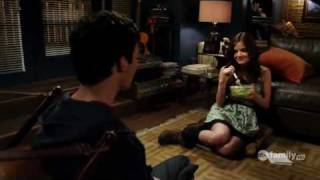 "Pretty Little Liars 1x04 ""Can You Hear Me Now?"" Ezra and Aria Scenes"