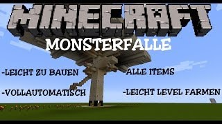 getlinkyoutube.com-Vollautomatische Monsterfalle mit Levelfarm (Deutsch) Tutorial