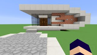 Download video tuto belle maison moderne minecraft - Belle construction minecraft tuto ...