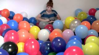 getlinkyoutube.com-Michaela Gleave '7 Stunden Ballonarbeit/7 Hour Balloon Work'