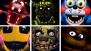 getlinkyoutube.com-Five Golden Nights at Freddy's 2: All Jumpscares