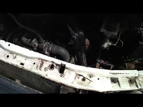 Замена рулевого редуктора на Ford Transit серия 3