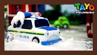 Waterproof Police Car (Feat. Sergeant Cooper) l Tayo's Toy Adventure #17 l Tayo the Little Bus