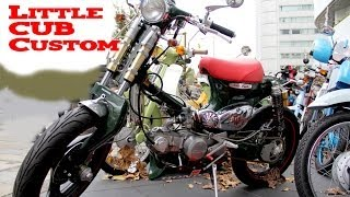 getlinkyoutube.com-HONDA Little Cub Custom Bike
