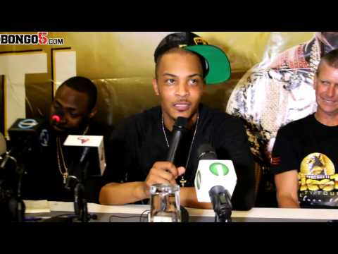 Davido and TI Serengeti Fiesta Press Conference @bongofive