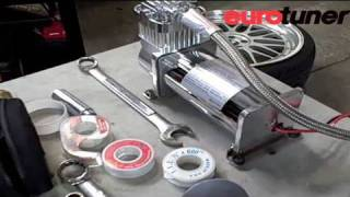 getlinkyoutube.com-VW Golf GTI Air Suspension installation