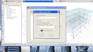 getlinkyoutube.com-Etabs tutorial nonlinear and dynamic part1