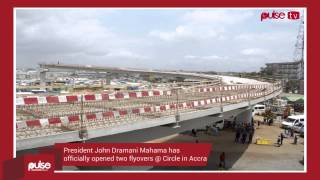 getlinkyoutube.com-Two Nkrumah Interchange flyovers open to motorists