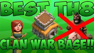 "getlinkyoutube.com-""BEST"" TH8 CLAN WAR BASE!!   SPEEDBUILD   BY LN GAMING"