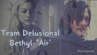 "getlinkyoutube.com-Beth & Daryl - ""Air"" ( Team Delusional)"