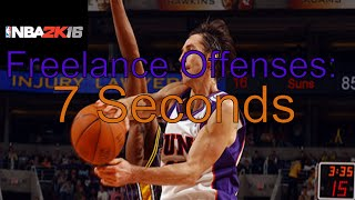 NBA 2k16 Freelance Offenses: 7 Seconds