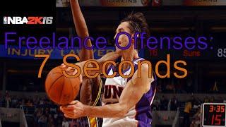 getlinkyoutube.com-NBA 2k16 Freelance Offenses: 7 Seconds