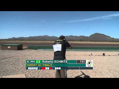 Finals Trap Men - ISSF Shotgun World Cup 2012, Tucson (USA)