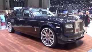 getlinkyoutube.com-2016, Rolls Royce Phantom, Exterior and Interior, Geneva Motor Show 2015