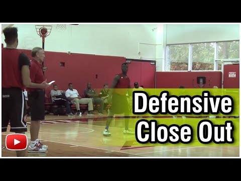 Basketball Post Play and Defense - Close Out Featuring Tom Asbury