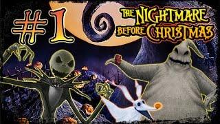 getlinkyoutube.com-The Nightmare Before Christmas: Oogie's Revenge Walkthrough Part 1 (PS2, XBOX) Ch 1: Jack's Return