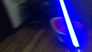 getlinkyoutube.com-Star Wars 2015 The Black Series Force FX Lightsaber Luke Skywalker ANH