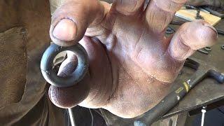 getlinkyoutube.com-Blacksmithing - Making Rings