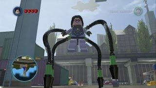 getlinkyoutube.com-LEGO Marvel Super Heroes - Doctor Octopus (Ultimate) Free Roam Gameplay
