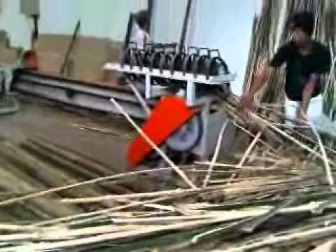 Mesin Pemecah Bambu - Jalu Teknik