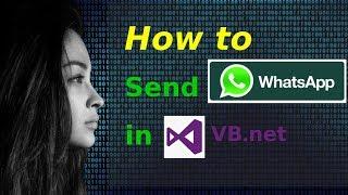 getlinkyoutube.com-How to send WhatsApp messages in VB.NET