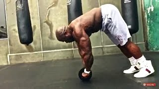 getlinkyoutube.com-Kali Muscle: EXTREME ABS WORKOUT (WHEEL OF PAIN)