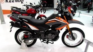 getlinkyoutube.com-2014 KeyWay TX 125 S Walkaround - 2013 EICMA Milano Motorcycle Exhibition