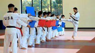 Amazing Taekwondo Training 2015