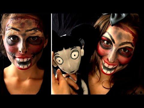 ► Maquillage Poupée Démoniaque / Devil Doll Makeup / Sans latex, faux sang ni cornichons !