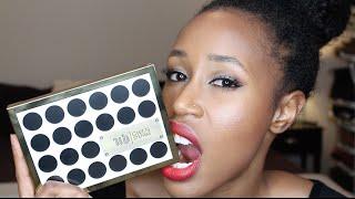 getlinkyoutube.com-Urban Decay X Gwen Stefani Eyeshadow Palette Review + Makeup Look for Brown Skin/WOC