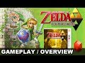 Zelda: A Link Between Worlds 3DS Game, Boss Dungeon / Hyrule Field Gameplay, New Evil Trailer