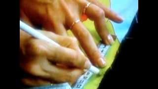 getlinkyoutube.com-CORTINA  DE TIRAS 1 DE 2 PARTS