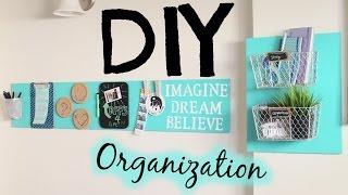 getlinkyoutube.com-DIY Room Decor Organization! Easy & Cheap!