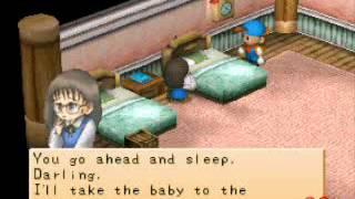 getlinkyoutube.com-Harvest Moon: Boy and Girl - Sick Baby Options