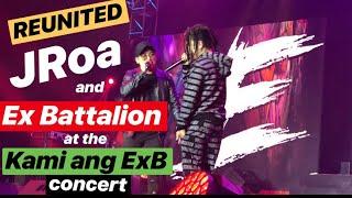 REUNITED! JRoa at EX-Battalion nagsama ulit sa KAMI ANG EXB concert | Di Ako Fuckboy at Taguan