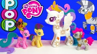 getlinkyoutube.com-MLP POP My Little Pony Pop Cutie Mark Magic Princess Celestia Zecora  Kit Playset Toy Unboxing