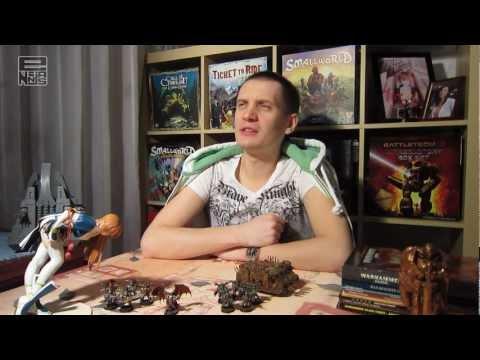 Как научиться играть в настольный Warhammer 40,000 - часть 2 - Составляем ростер