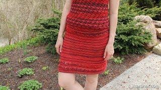 getlinkyoutube.com-How to crochet a skirt