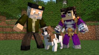 getlinkyoutube.com-Minecraft | TOBBY EL PERRITO!! c/ Vegetta | Minijuego BUILD BATTLE
